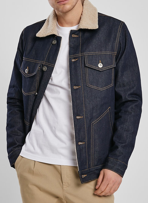 UC Sherpa Denim Jacket, rinsed