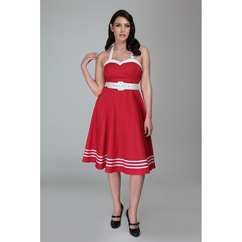 COLLECTIF, Georgie nautical red/white