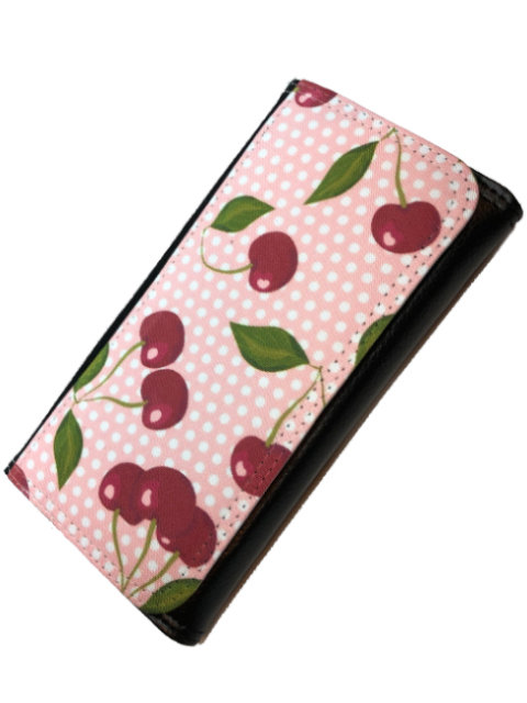 Cherry Polka soft pink, Wallet