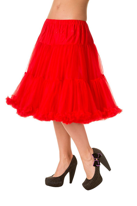 BANNED Starlite Petticoat, red