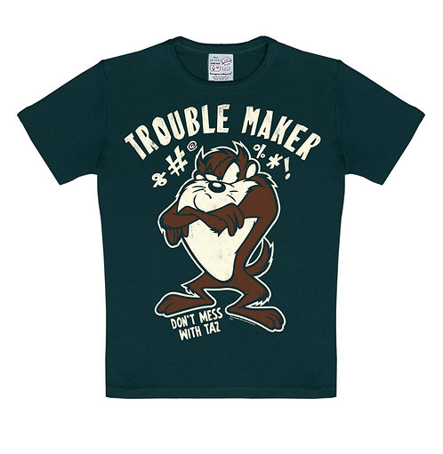 Logoshirt Trouble Maker, black