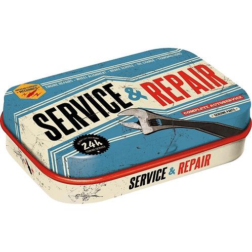 Service & Repair, Pillendose