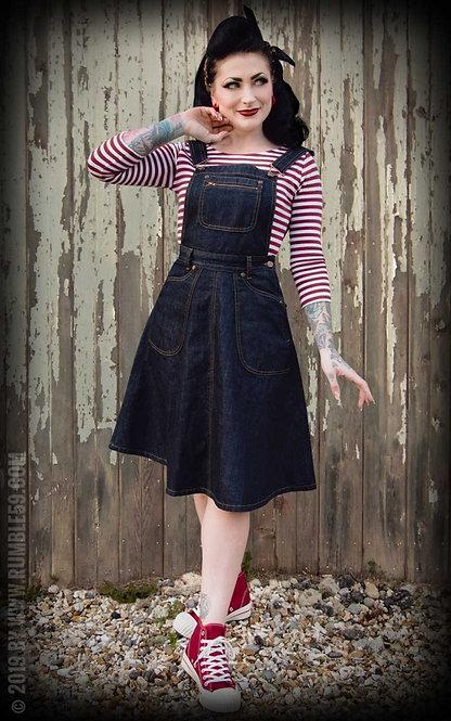 RUMBLE 59 Rockin Rosie Latzkleid
