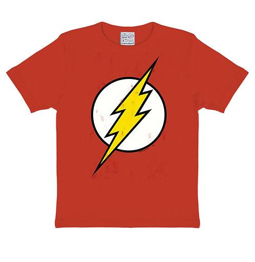 Logoshirt DC Flash Logo, red