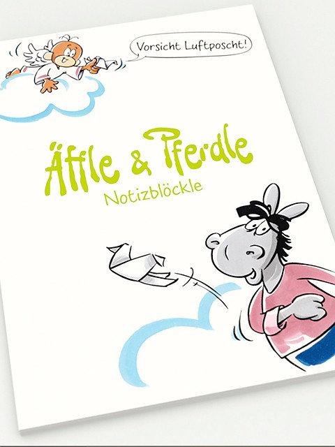 Äffle & Pferdle, Luftposcht
