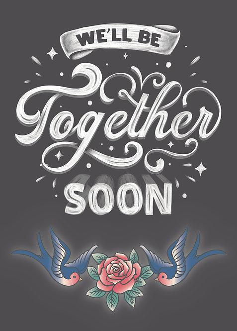 Together soon, Postkarte