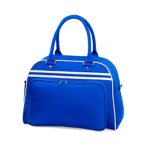 RETRO Sports bag, royal blue