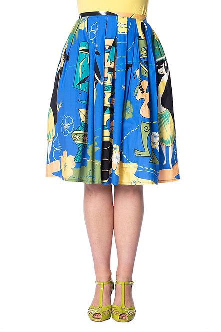 BANNED Tiki Swing Skirt