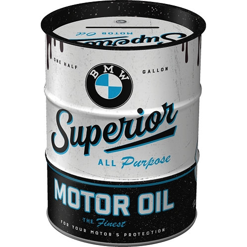 Superior Motor Oil, Spardose