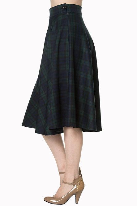BANNED, Tartan Skirt