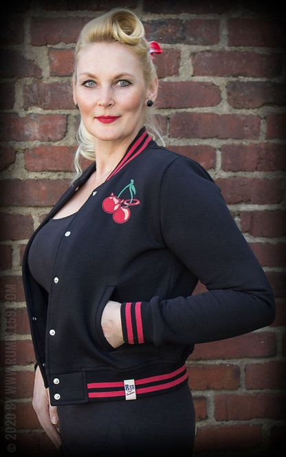RUMBLE 59 Cherry Bomb College Jacket
