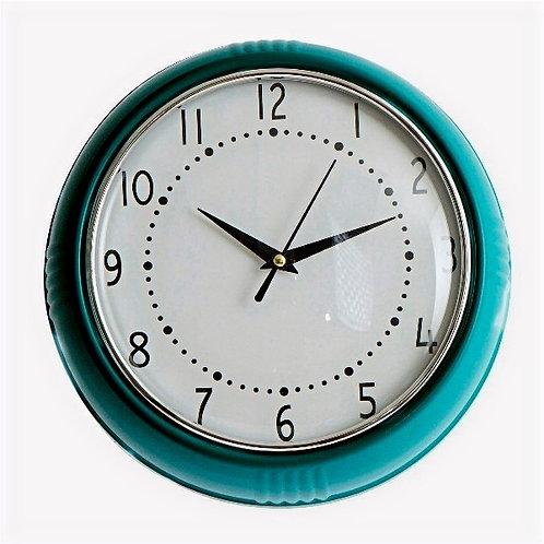 Wall Clock Cocina Blue