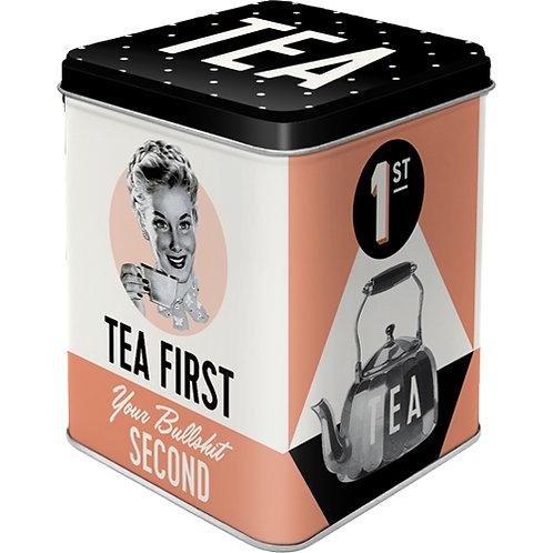Tea First, Teedose