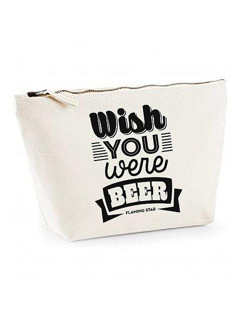 Flaming Star Wish you were Beer, beige