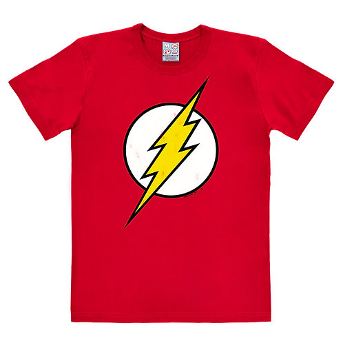 DC Flash Logo, red