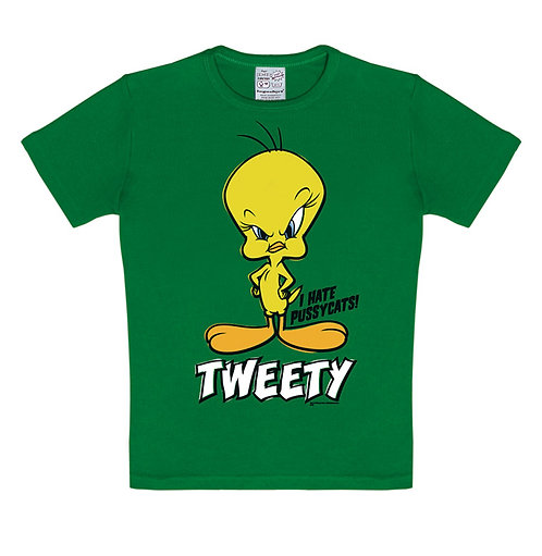 Logoshirt Tweety, green