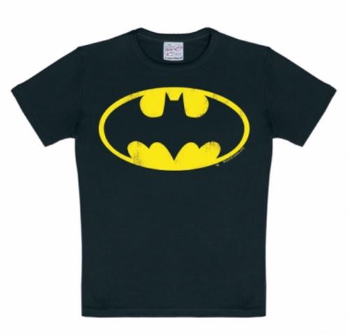 Logoshirt Batman Logo, black