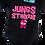 Thumbnail: Flaming Star Jungs stinken, black