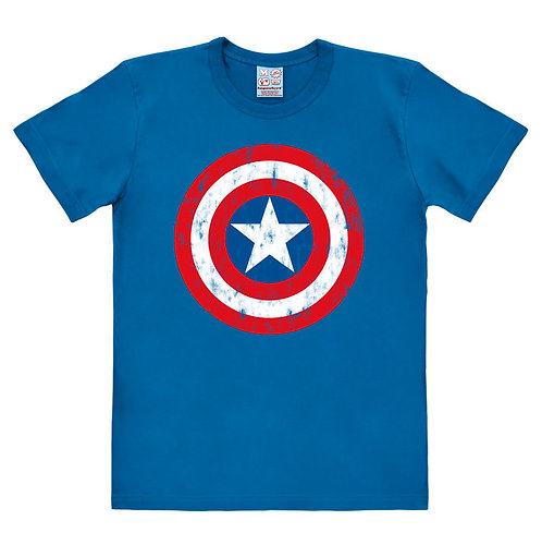 Captain America Logo, blue