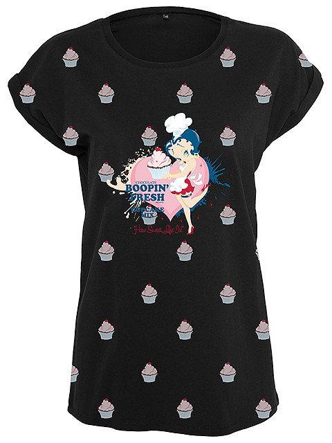 Betty Boop Cupcake, Extend Shirt