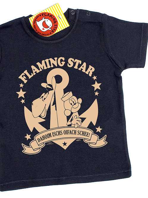 Flaming Star Äffle & Pferdle, black
