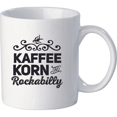 Kaffee, Korn und Rockabilly, white