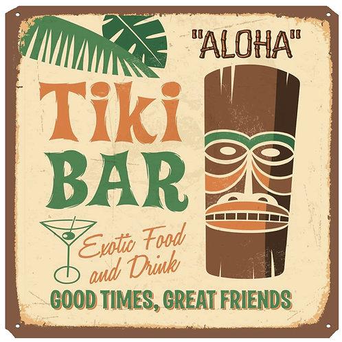 Tiki Bar Coaster