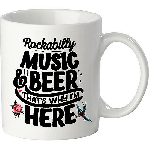 Rockabilly Music, white