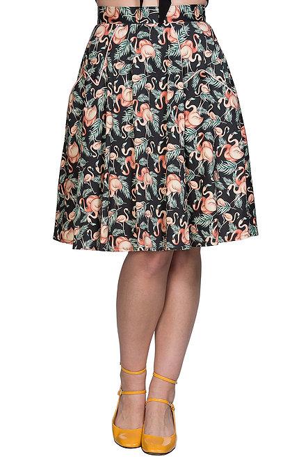 BANNED Flamingo Swing Skirt