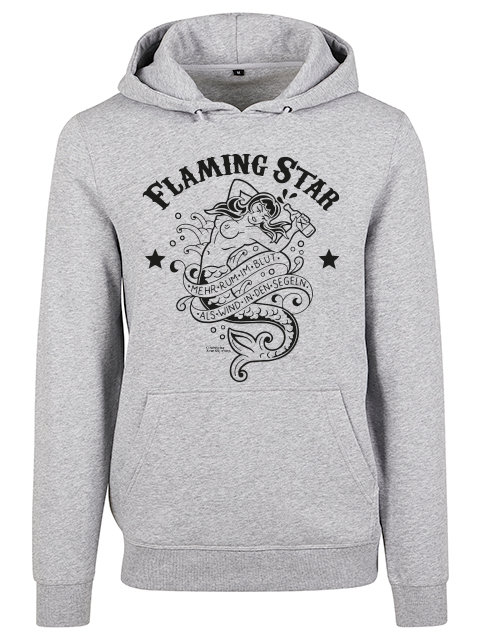 Flaming Star Rum im Blut, grey