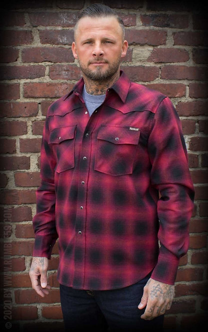 RUMBLE 59 Shadowplaid red/black