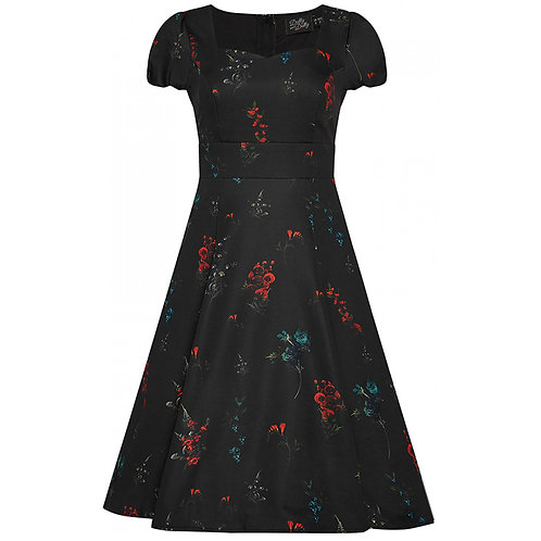 Dolly & Dotty Claudia, black Floral