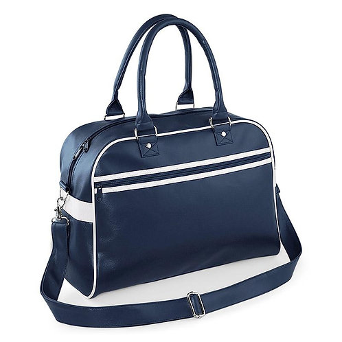RETRO Bowling bag, navy