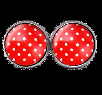 Polka Love, red/white