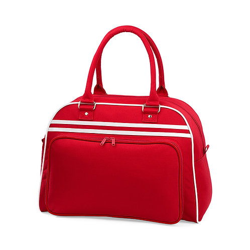 RETRO Sports bag, red
