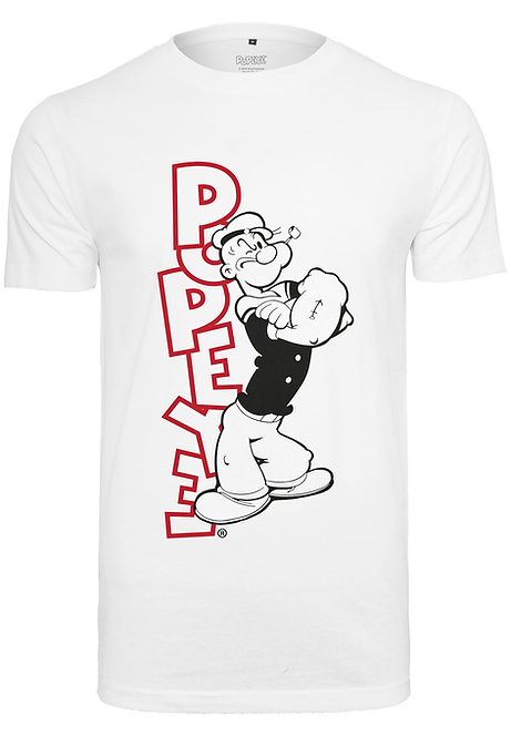 Popeye Still Standing, white