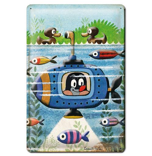 Der kleine Maulwurf, U-Boot
