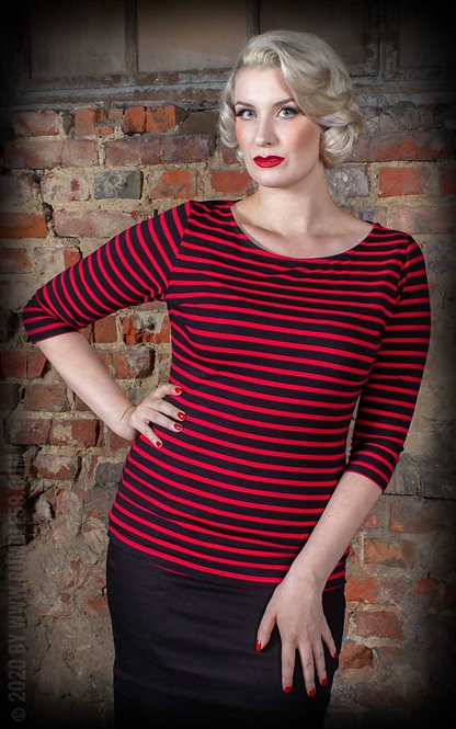 RUMBLE 59, Let's be Bettie! red/black
