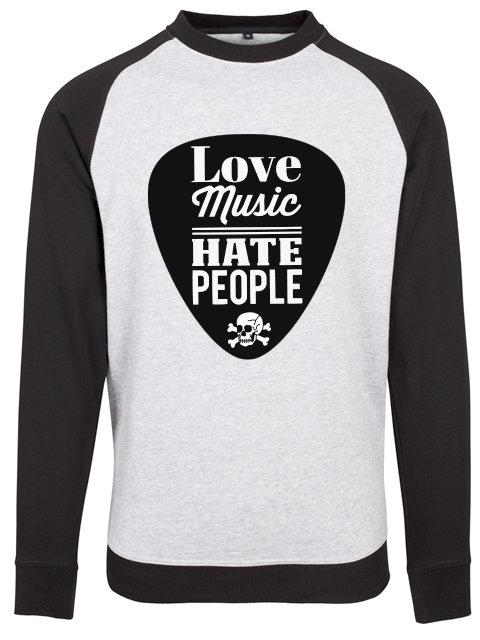 Flaming Star Love Music - Hate People, grey/black