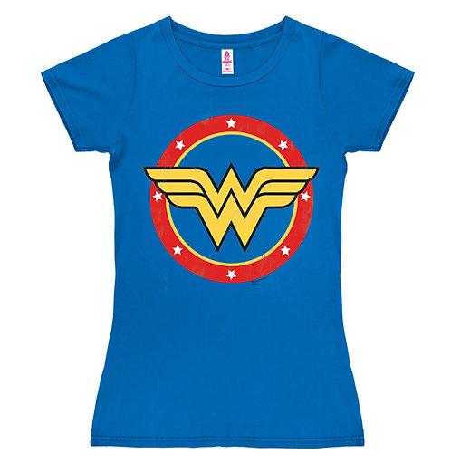 Wonder Woman Logo, electric blue