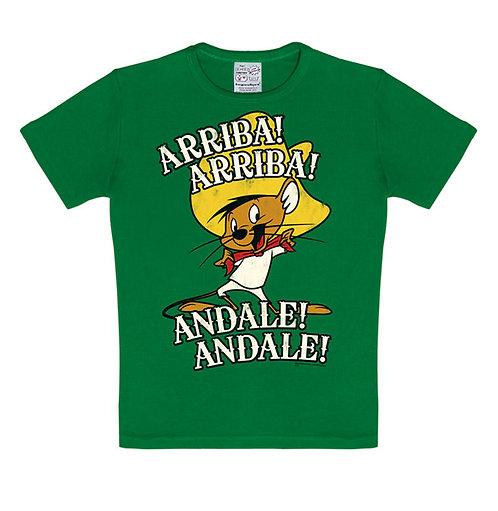 Logoshirt Speedy Gonzales, green