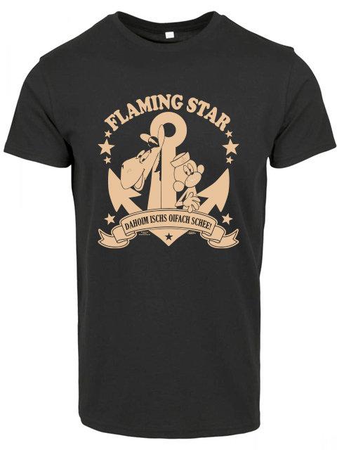Flaming Star Äffle & Pferdle, black
