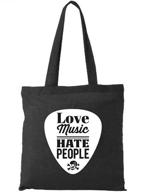 Flaming Star Love Music - Hate People, black