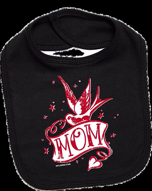 Flaming Star Mom, black