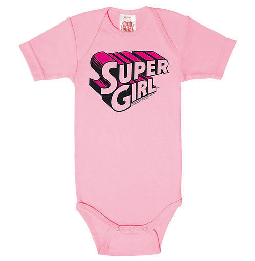 LOGOSHIRT Super Girl, pink