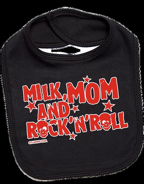 Flaming Star Milk Mom... black