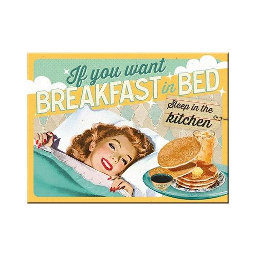 Breakfast in Bed, Magnet