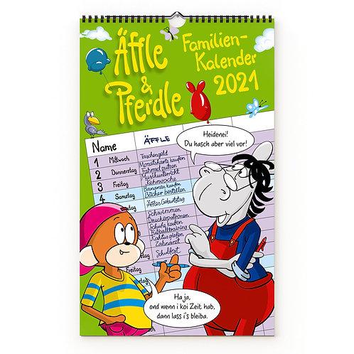 Äffle & Pferdle, Familienkalender 2021
