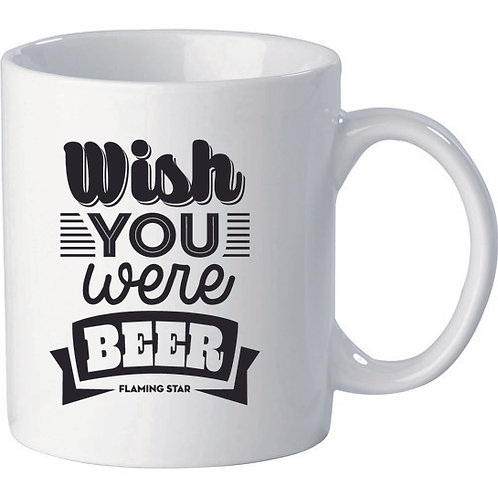 Wish you were Beer, white