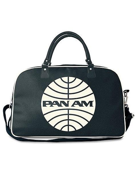 PAN AM, LOGO BAG NAVY BIG
